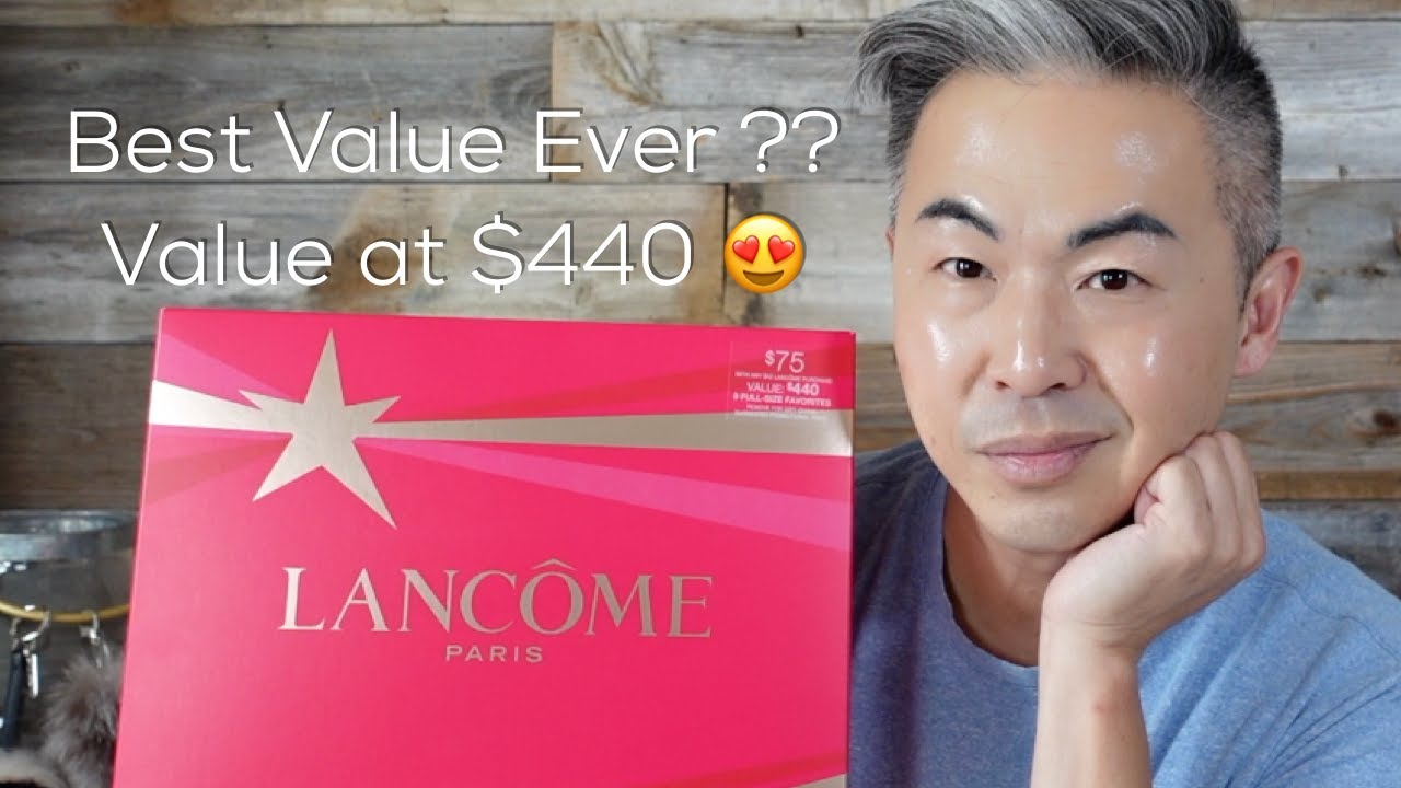 LANCOME 2021 HOLIDAY BOX UNBOXING | REVIEW