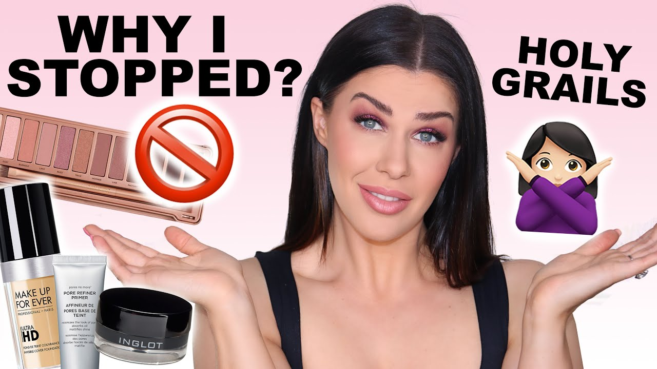 HOLY GRAIL MAKEUP THAT I'VE STOPPED USING – AND WHY! | MAKEUP GRAVEYARD