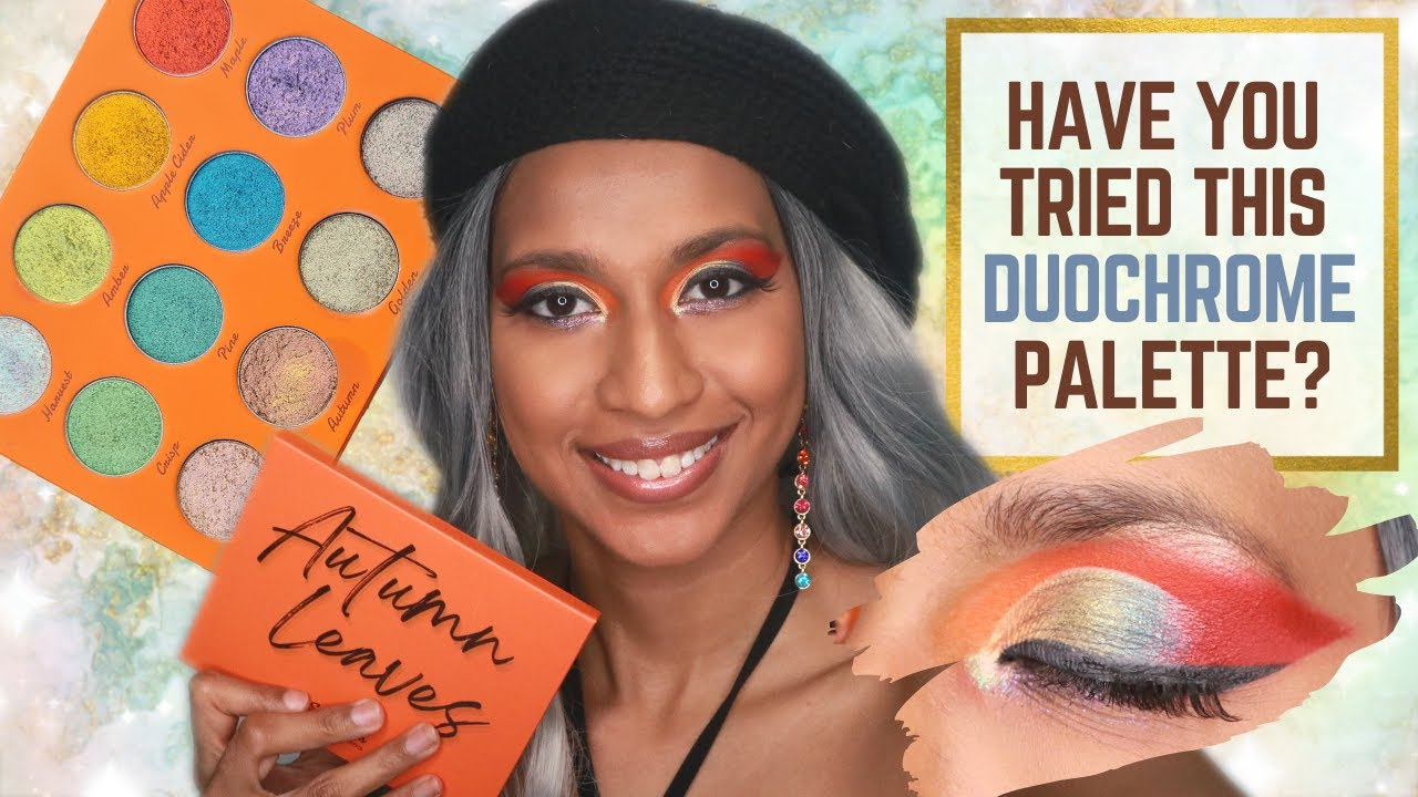 Autumn Leaves Palette Swatches, Makeup Tutorial & Review | Simply Posh Cosmetics | COLOURFUL INDIAN