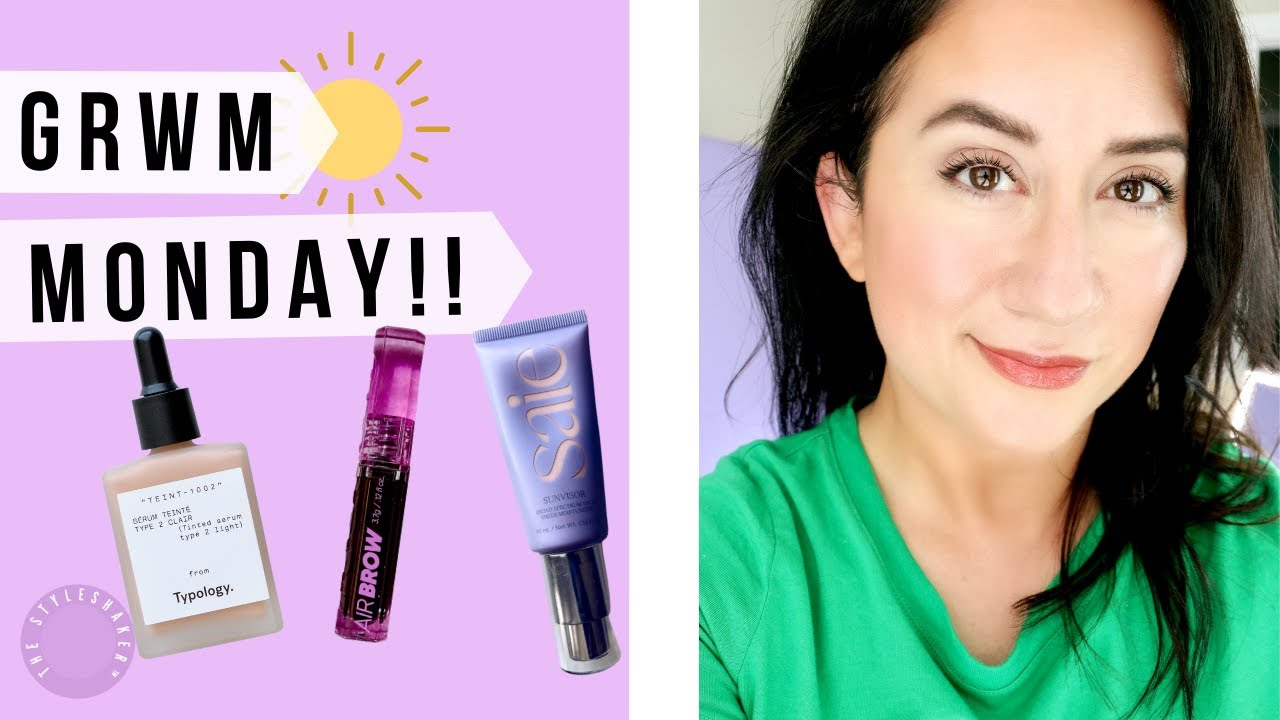 Get Ready With Me, CLEAN BEAUTY Storytime with Favorites from KOSAS, ILIA, SAIE and Trying TYPOLOGY!