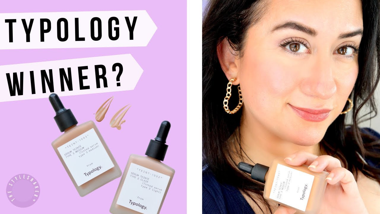 Before You Buy the TYPOLOGY TINTED SERUM, Watch My Honest Review | Swatches, Before and After