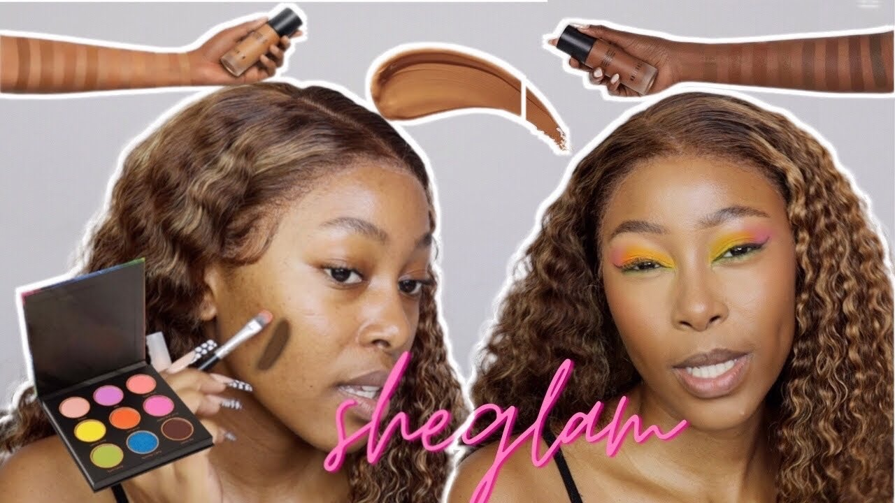 WATCH THIS BEFORE YOU BUY MAKEUP FROM SHEIN | SHEGLAM REVIEW | BACK TO BEAUTY