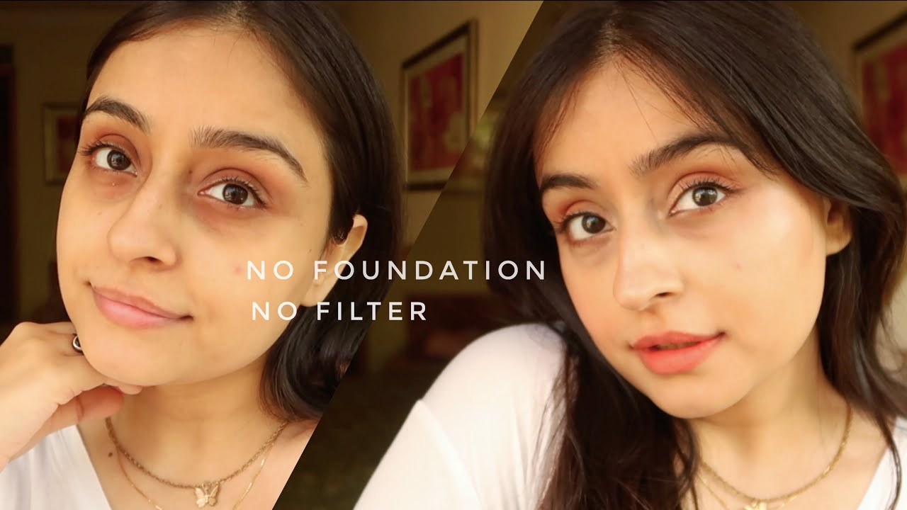 *Very* simple everyday Makeup Routine (no foundation, no filter)