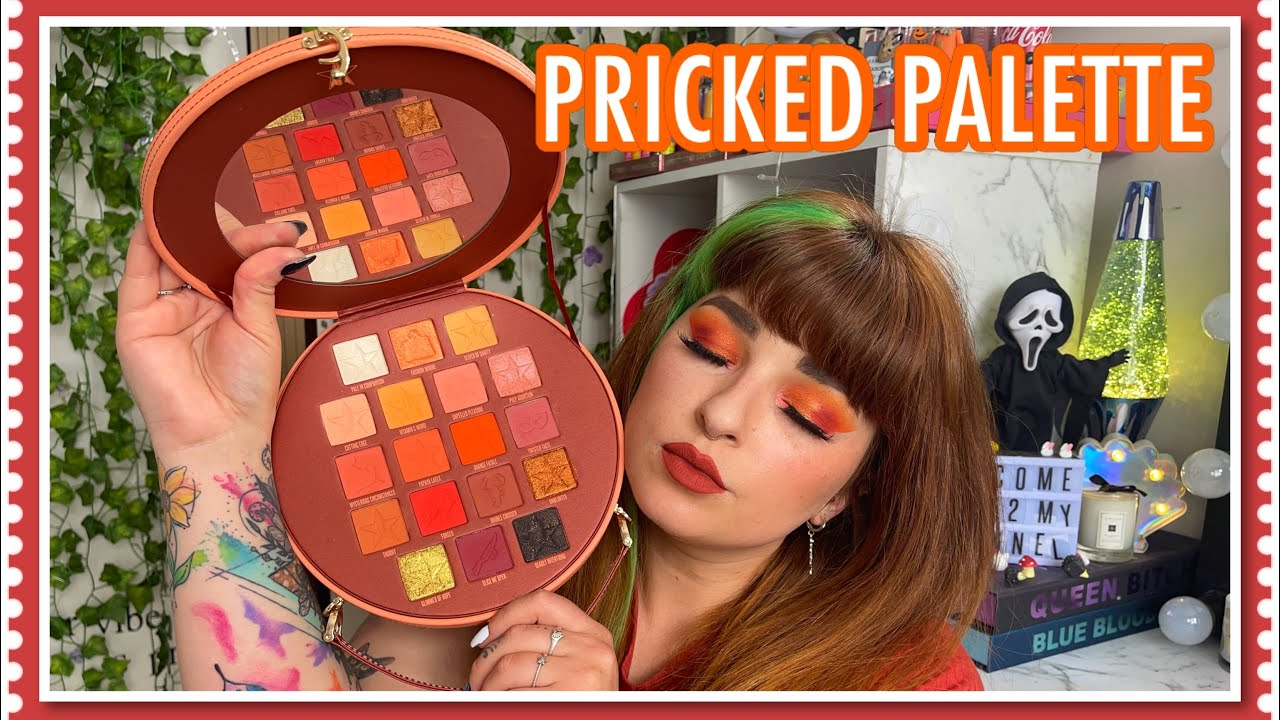 Pricked palette Review and Swatches | Jeffree Star Cosmetics