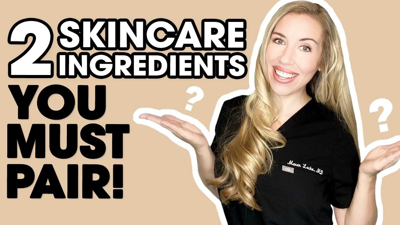 Two Ingredients You MUST Pair! | Skincare Made Simple by The Budget Dermatologist