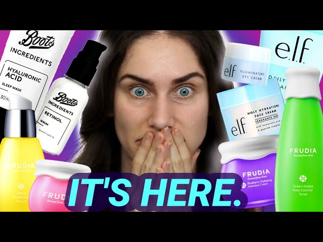 Drugstore Skincare is HERE and I'm Not Okay.